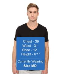 Michael Kors - Black Luxury Modal V-neck T-shirt for Men - Lyst