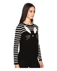 Kate Spade | Black Bunny Sweater | Lyst