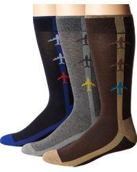Hue - Black Jetsetter Sock 3-pack for Men - Lyst