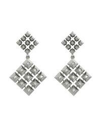 House of Harlow 1960 - Metallic The Lyra Statement Earrings - Lyst