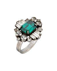 DANNIJO | Metallic Beacon Ring | Lyst