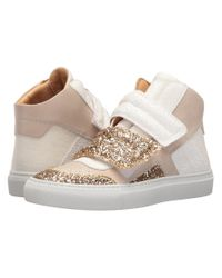 MM6 by Maison Martin Margiela - Multicolor Mixed Glitter High Top - Lyst