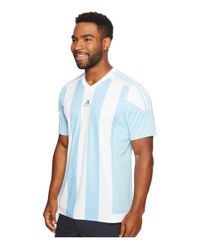 Adidas Originals - Blue Striped 15 Jersey for Men - Lyst