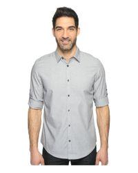 Calvin Klein - Gray Chambray Button Down for Men - Lyst