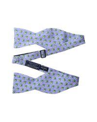 Vineyard Vines - Purple Kentucky Derby Mint Julep Printed Bow Tie for Men - Lyst