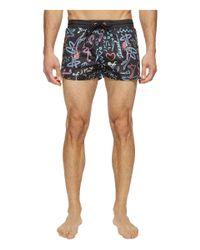 DIESEL - Black Sandy Shorts Ians for Men - Lyst