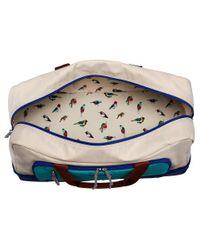 Vera Bradley Luggage - Blue Wheeled Carry-on - Lyst