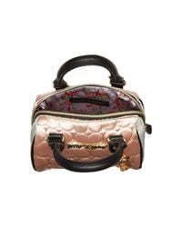 Betsey Johnson - Multicolor Mini Satchel Crossbody - Lyst