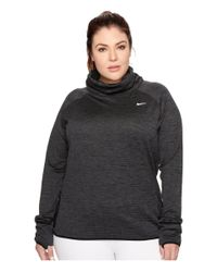 Nike - Black Therma Sphere Element Long Sleeve Running Top (sizes 1x-3x) - Lyst