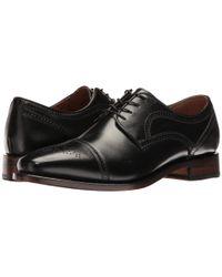 Johnston & Murphy - Black Collins Dress Cap Toe Oxford for Men - Lyst