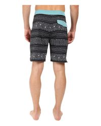 Rip Curl - Black Mirage Cabana Boardshorts for Men - Lyst