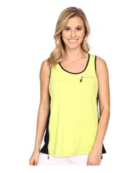 Jamie Sadock | Multicolor Life Style Jasmine Sleeveless Tank Top With Back Inverted Pleat | Lyst