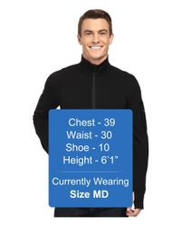 Icebreaker - Black Compass Long Sleeve Zip for Men - Lyst