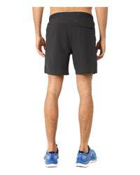 "Brooks - Black Sherpa 7"" Shorts for Men - Lyst"