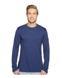 5582debd2c7 Lyst - Nike Elite Long Sleeve Basketball Top in Blue for Men