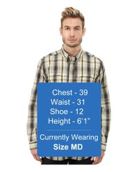 Carhartt - Brown Force Mandan Plaid Long Sleeve Shirt for Men - Lyst