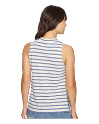 Billabong - Multicolor Your Eyes Muscle Tee - Lyst