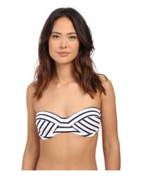 Vince Camuto | Blue Shore Side Underwire Bra W/ Soft Cups And Removable Straps | Lyst