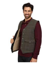 Woolrich - Gray Teton Vest for Men - Lyst
