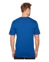 Agave - Blue Cory Short Sleeve V-neck Tee for Men - Lyst