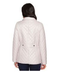 Ellen Tracy - Multicolor Short Quilted Jacket - Lyst