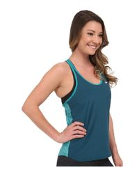 Nike - Blue Slam Printed Breathe Tank Top - Lyst