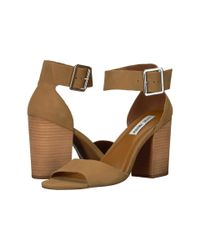 7f9b108b639 Lyst - Steve Madden Estoriaa in Brown