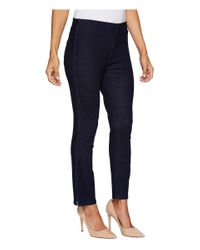 NYDJ - Blue Petite Alina Pull-on Ankle Jeans In Rinse - Lyst