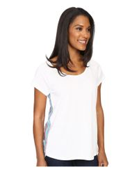 Prana - White Dina Top - Lyst
