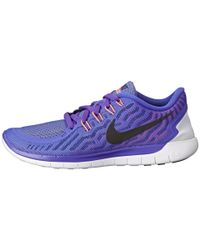Nike - Purple Free 5.0 - Lyst