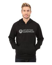 Mountain Hardwear - Black Logo Graphic Pullover Hoodie for Men - Lyst