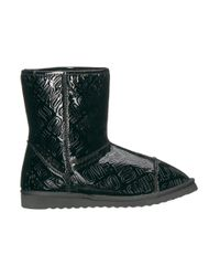 Love Moschino - Black Ankle Boots - Lyst