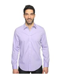 CALVIN KLEIN 205W39NYC - Purple Chambray Button Down for Men - Lyst