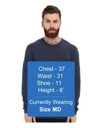 7 Diamonds - Blue Cain Long Sleeve Shirt for Men - Lyst