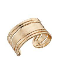 Sam Edelman - Metallic Open Metal Cuff Bracelet - Lyst