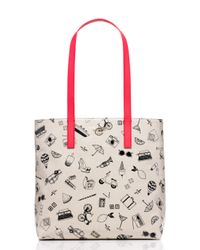 kate spade new york | Multicolor Things We Love Tote | Lyst