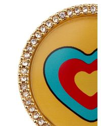 Marc By Marc Jacobs | Yellow Heart Badge | Lyst