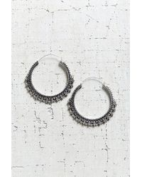 Urban Outfitters | Metallic East End Large Hoop Earring | Lyst