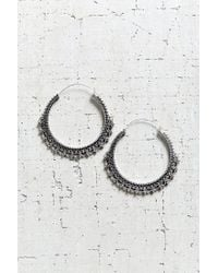 Urban Outfitters - Metallic East End Large Hoop Earring - Lyst