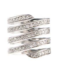 Lynn Ban - Metallic Coil Phalanx Ring - Lyst