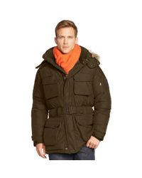 Ralph Lauren - Green Water-resistant Down Parka for Men - Lyst
