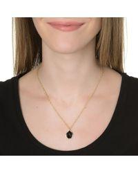 Kendra Scott | Metallic Kiri Necklace, Black | Lyst