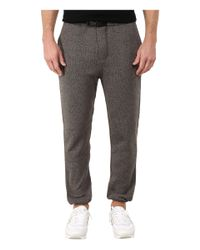 Obey | Black Conway Fleece Pants for Men | Lyst