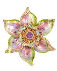 Jay Strongwater | Multicolor Sonia Daffodil Pin | Lyst