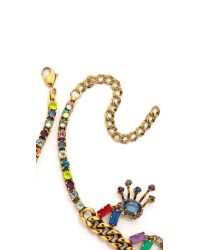 Erickson Beamon | Multicolor Telepathic Necklace - Multi | Lyst