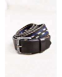 Will Leather Goods | Black Horse Hair Arrow Belt | Lyst