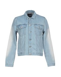Cheap Monday - Blue Denim Outerwear for Men - Lyst