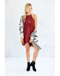 Kimchi Blue - Brown Florence High/low Dress - Lyst
