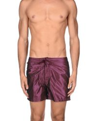 Sundek - Purple Swimming Trunk for Men - Lyst