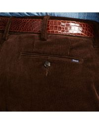 Polo Ralph Lauren - Brown Slim-fit Stretch Corduroy Pant for Men - Lyst